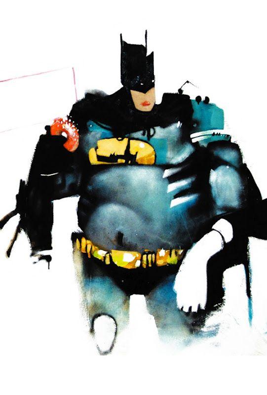 Anthony Lister With Images Superhero Painting Superhero Art Street Art