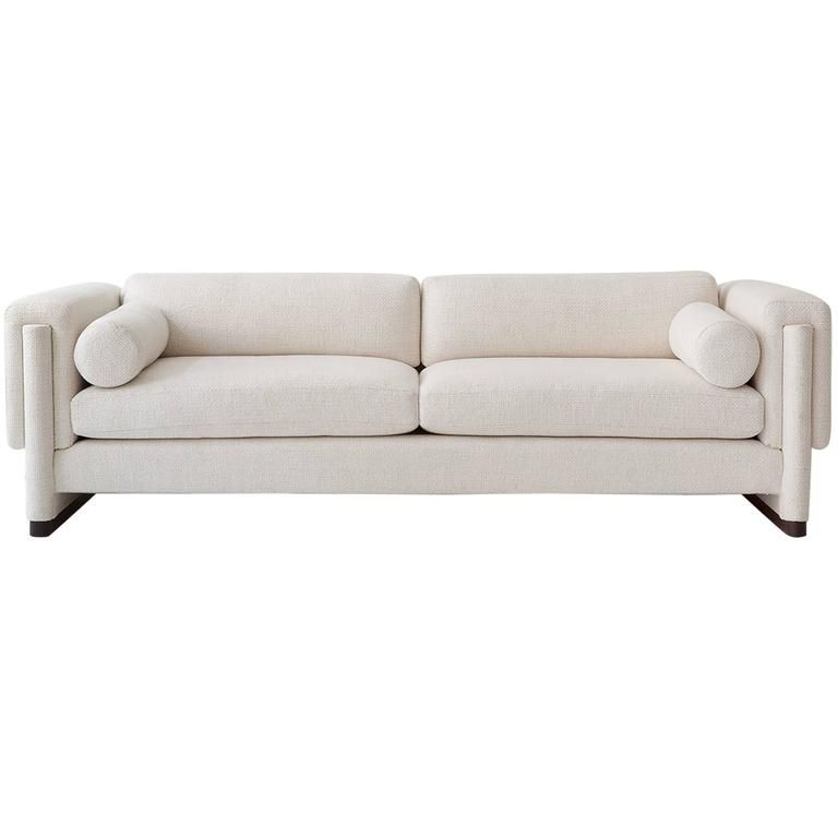 Howard Sofa Upholstered Down And Solid Wood A Perfect