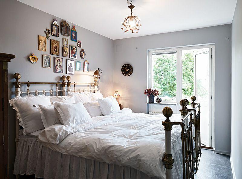 Sweet vintage bedroom #decor #home | Gorgeous interiors | Pinterest