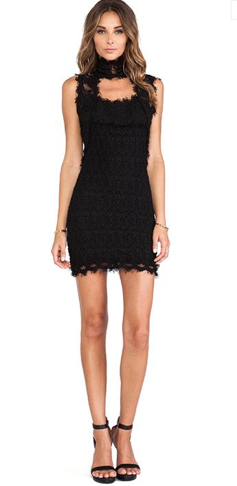 NIGHT CAP CLOTHING FLORENCE LACE CHAPEL DRESS BLACK $300- CALL SPLASH TO ORDER 314-721-6442