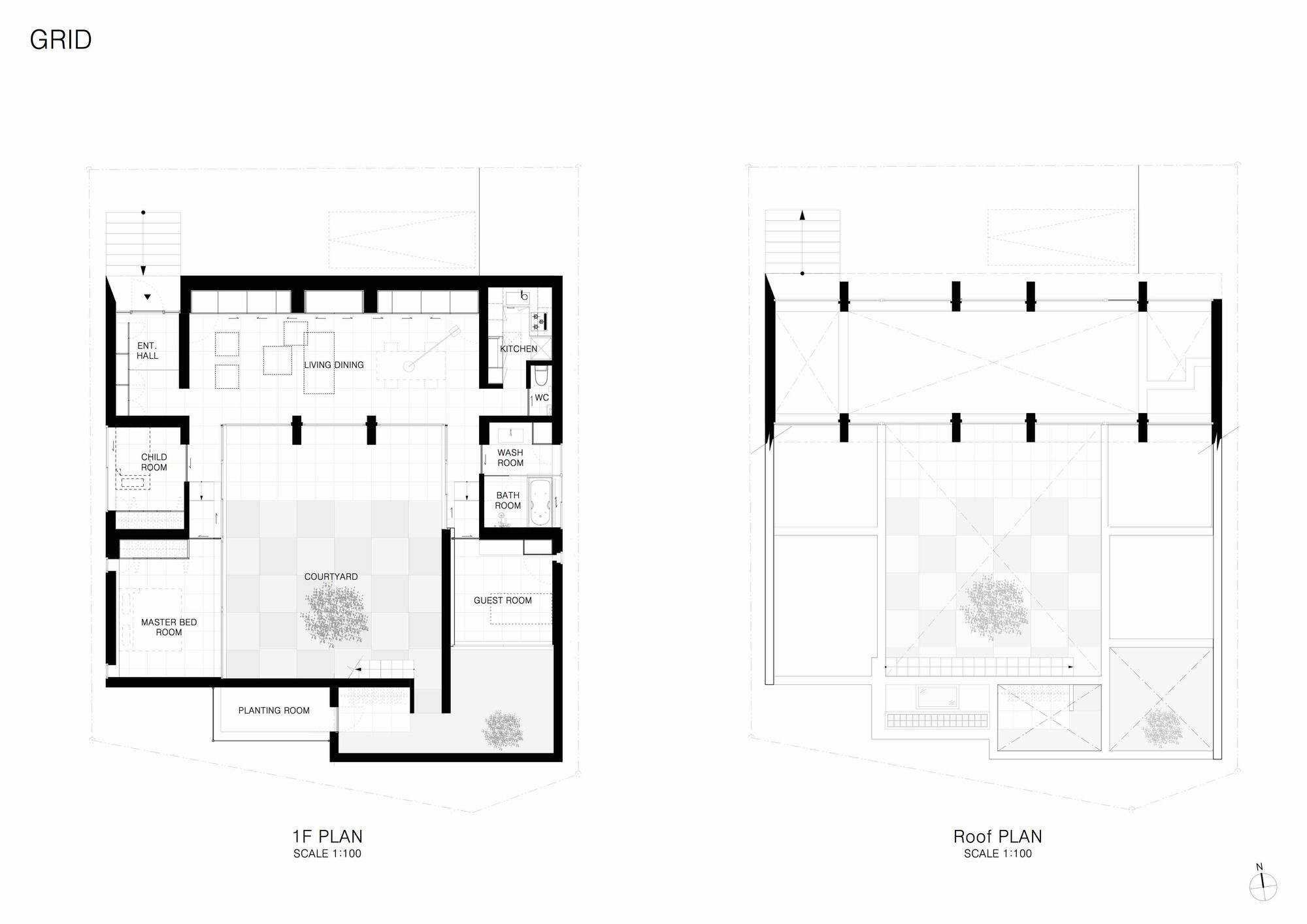 Gallery Of Grid Apollo Architects Associates 15 Architect Craftsman Floor Plans Wellness Design