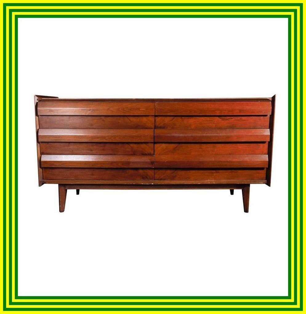 modern 6 drawer wood dresser - saracina home