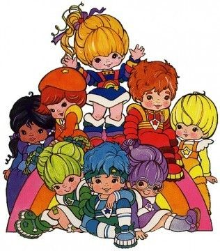Rainbow Bright and Friends ... Omg, I loved her. I'd watch her movie over and over and over. My mom would get so mad ;)