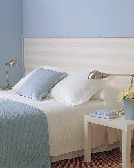 Ideas para decorar el cabecero de la cama ideas para - Cabeceros de papel pintado ...