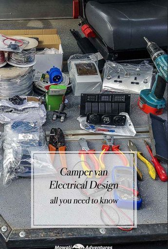 Photo of Camper Van Electrical Design with Detailed Wiring Diagram