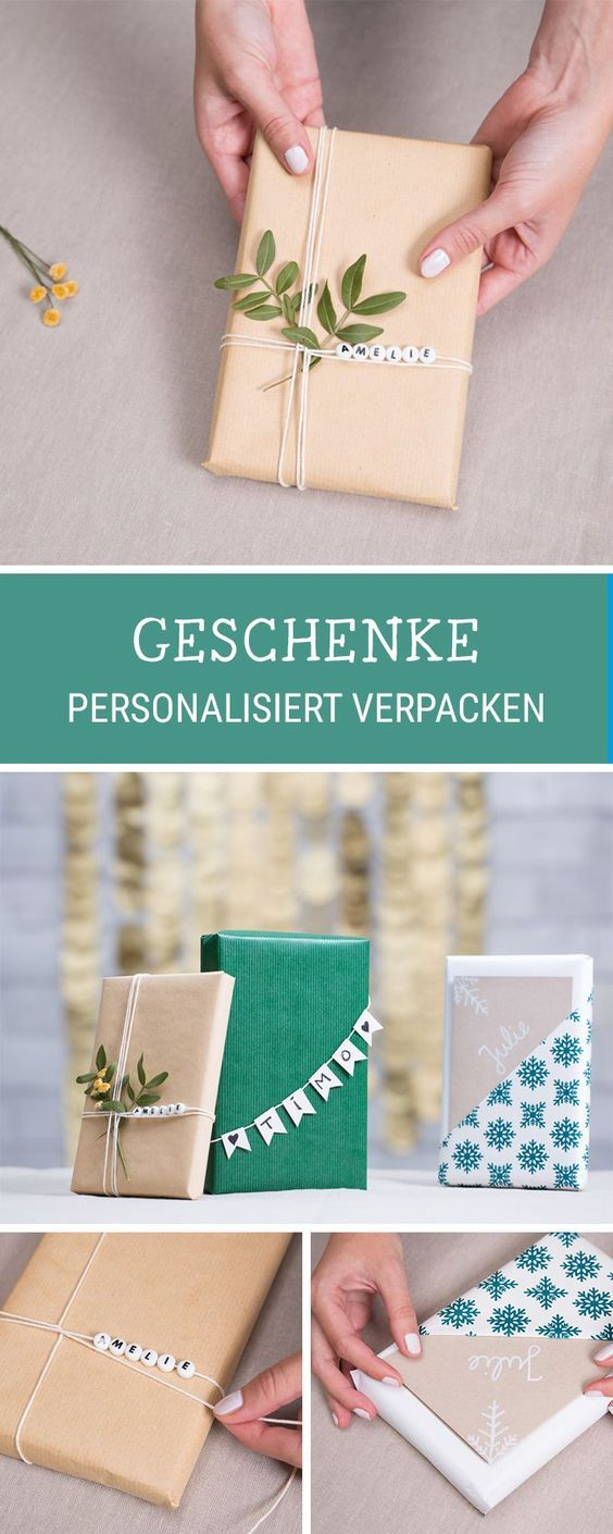 kostenloseanleitung f r personalisierte geschenkverpackungen f r weihnachten geschenke mit. Black Bedroom Furniture Sets. Home Design Ideas