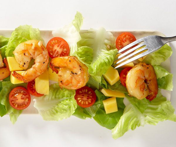 Tea-Smoked Shrimp Salad with Mango | Recipe | Smoked ...