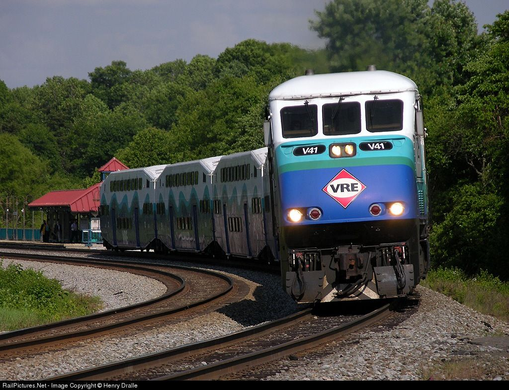 Railpictures net photo vre v41 virginia rail express vre for Railpictures