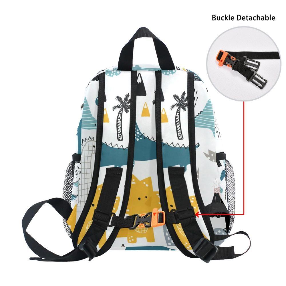 Coloranimal Cool 3D Underwater Animal Shark Printing Kids Backpacks