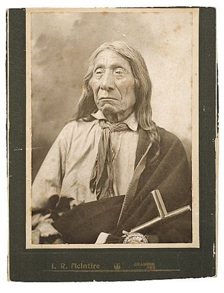 Red Cloud - Oglala - 1904 {Note: It is said that Red Cloud received his name because a red comet traveled through the sky in the year he was born, in 1822.}