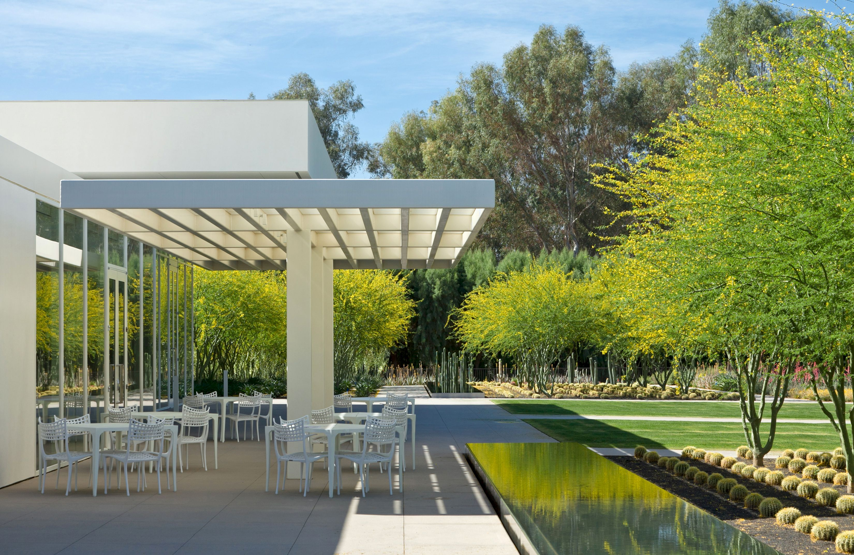 Landscape Design James Burnett Sunnylands Center Rancho Mirage Landscape Architecture