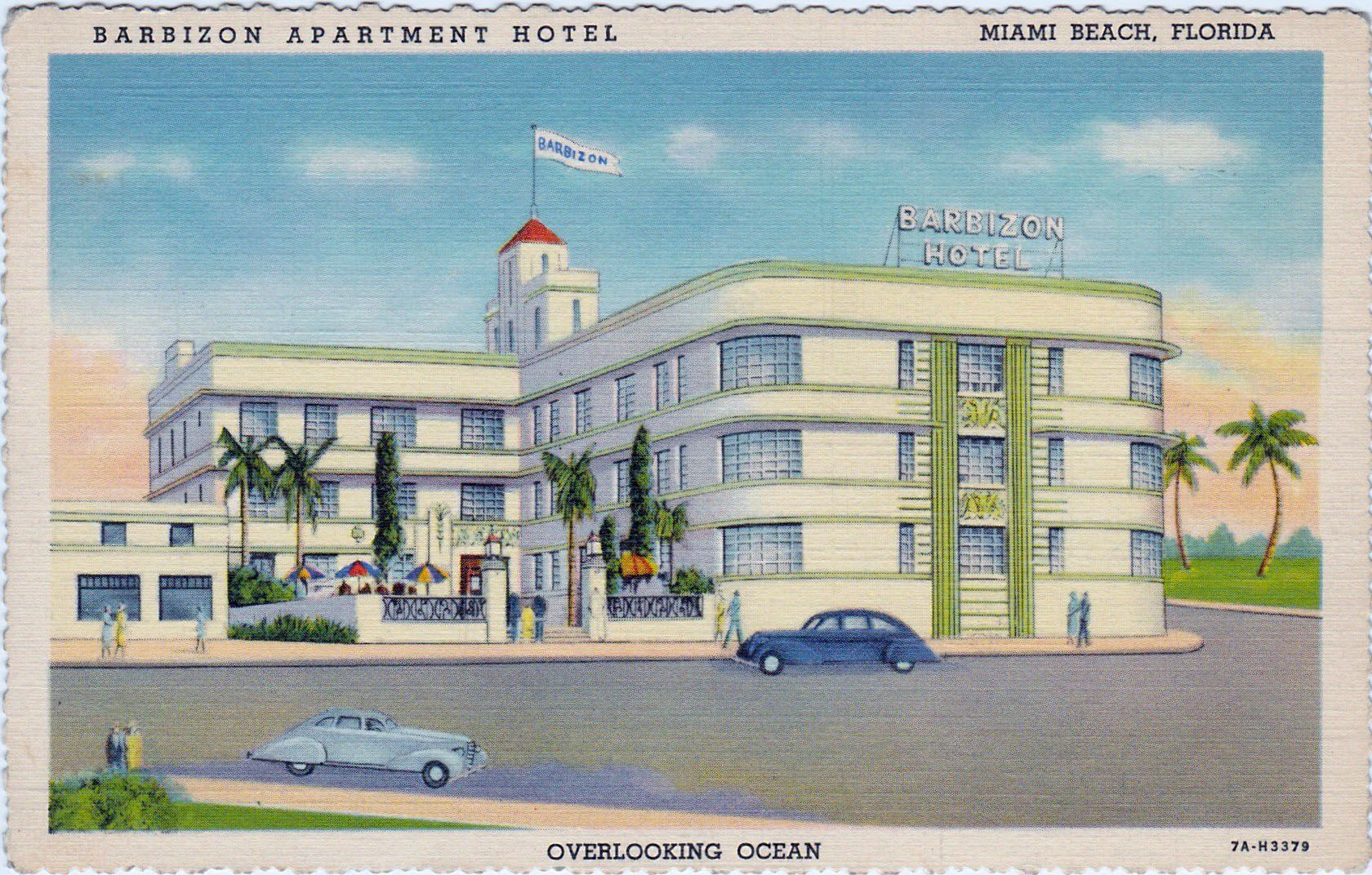Barbizon Apartment Hotel Ocean Drive At 6th Street 1937 Smart Distinct New