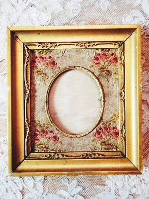 I love everything about this just as it is. French Boudoir Vintage Gold Picture Frame