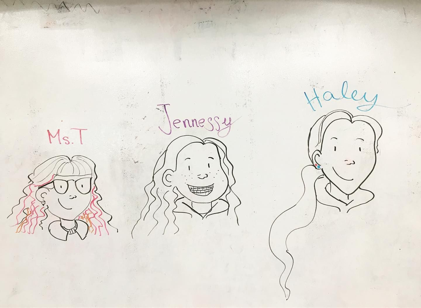 Had So Much Fun This Morning With The Whiteboard Wall In The