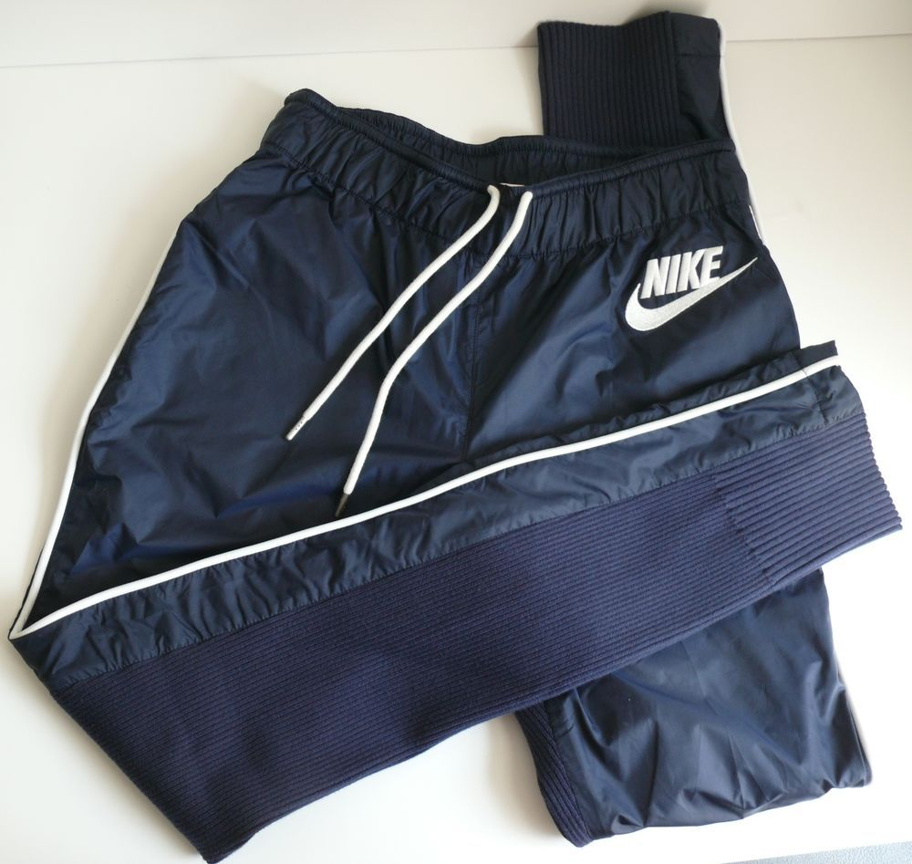 Nike sacai track pants xs womens blue running exercise stretch
