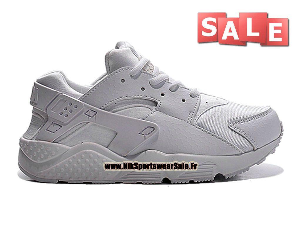 Nike Huarache Run (PS) - Chaussure Nike Sportswear Pas Cher Pour Petit Enfant(Taille 28-35) Blanc 704951-110