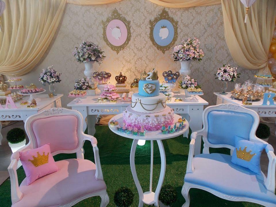 Famosos Encontrando Ideias: Festa Príncipe e Princesa!! | Festa casal de  ZR87