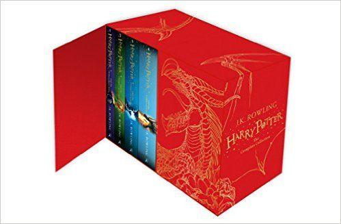 Harry Potter Box Set: The Complete Collection (Children's Hardback): Amazon.co.uk: J.K. Rowling: 9781408856789: Books