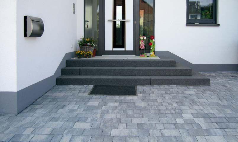 rustica stufen stufen produkte terrassenplatten pflastersteine nawierzchnia. Black Bedroom Furniture Sets. Home Design Ideas