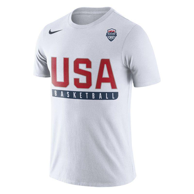 f3a7708c4e2b USA Basketball Nike Practice Dri-FIT T-Shirt - White