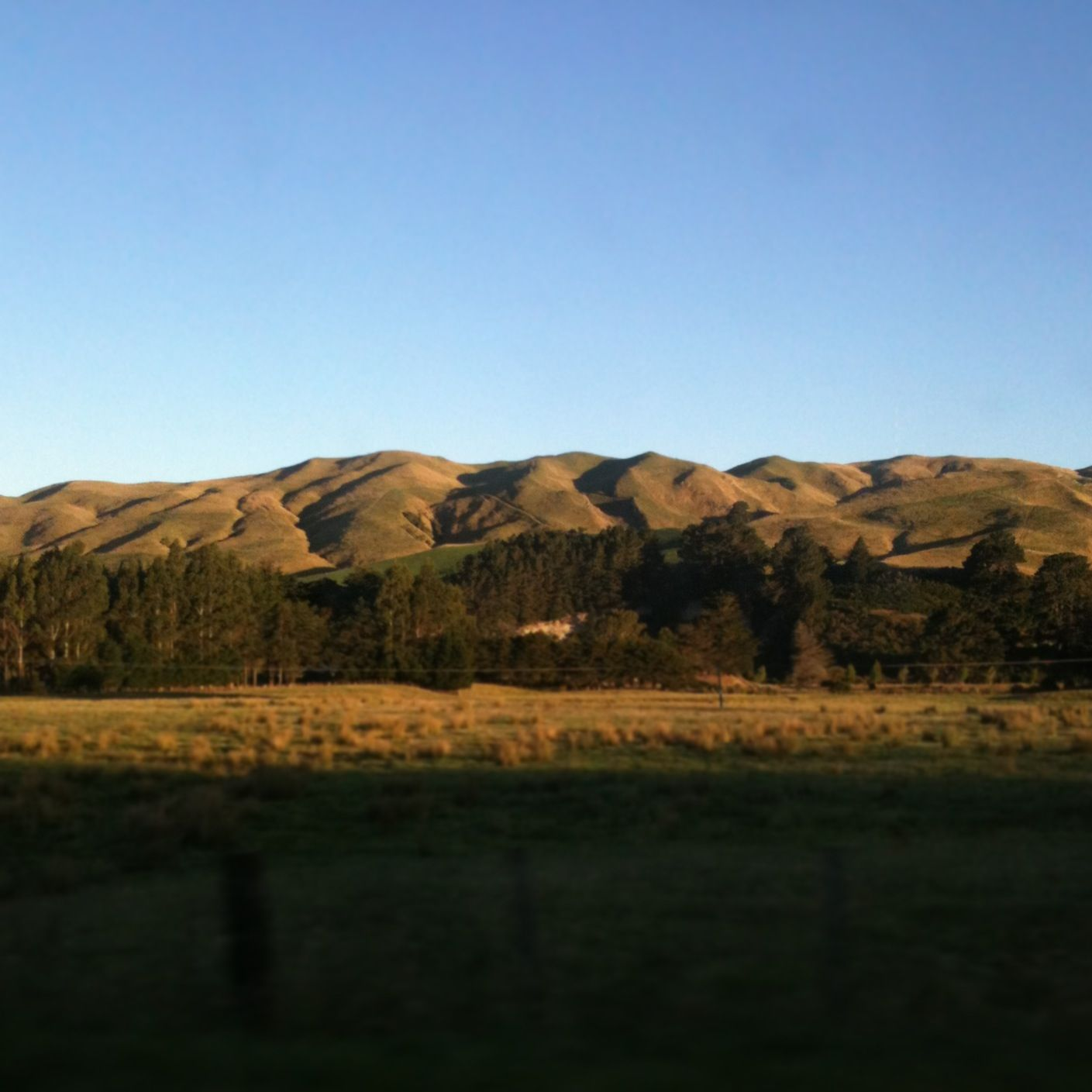 Central Hawkes Bay landscape, New Zealand photo Paper