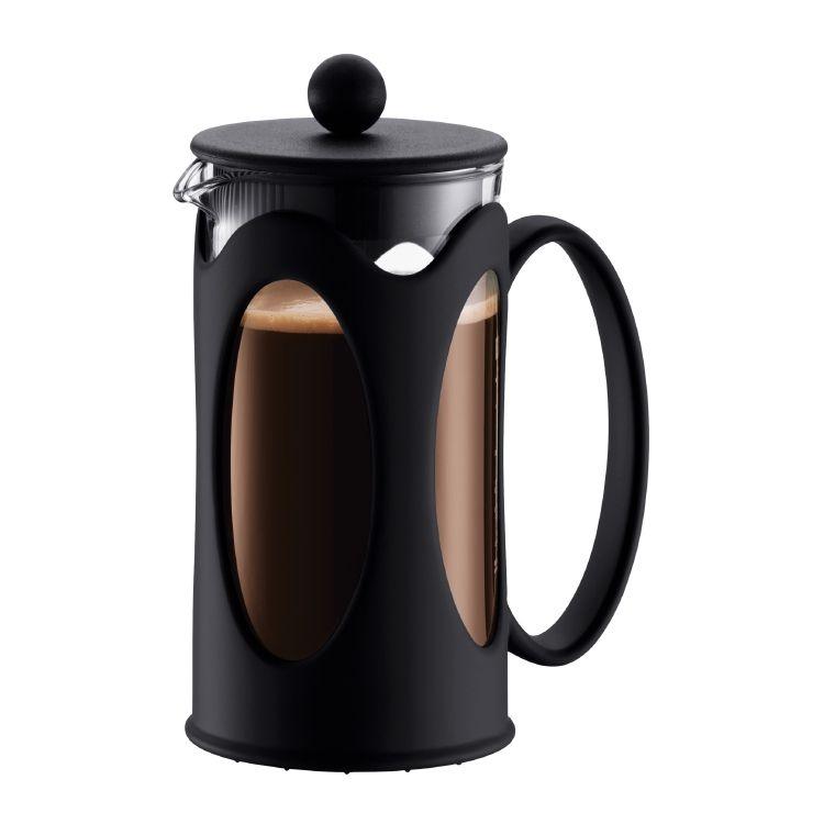 KENYA Kaffeebereiter, 3 Tassen, 0.35 l Schwarz | My Style ... | {Kaffeebereiter 33}