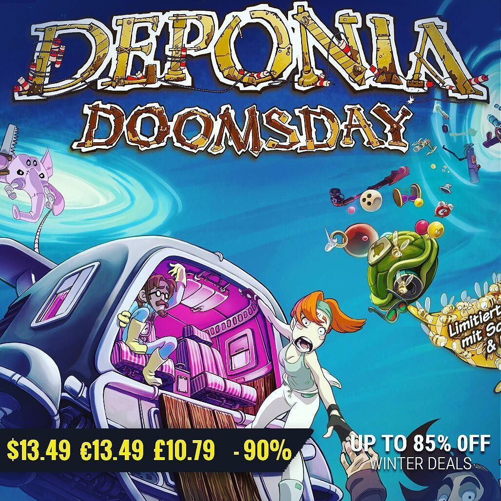 January gamedeals Deponia Doomsday 55 Off 13.49 13.49