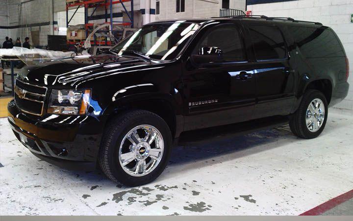 Chevrolet Suburban Negra De Los Dreads La Policia De Infiltracion