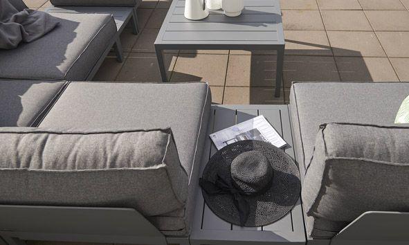 Fantastisk Bilde 2 av MACKENZIE MODULSOFA, GRÅ 78X78 | Hagemøbler | Sofa, Car PD-07