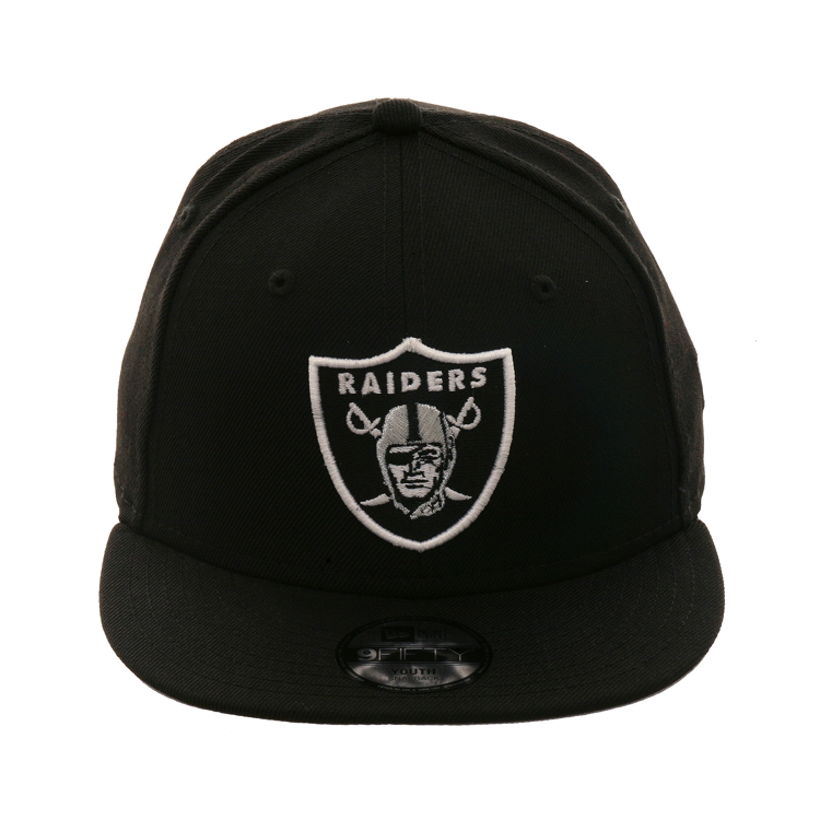 premium selection f5a9c 4c860 New Era 9Fifty Oakland Raiders Youth Snapback - Black,  25.00
