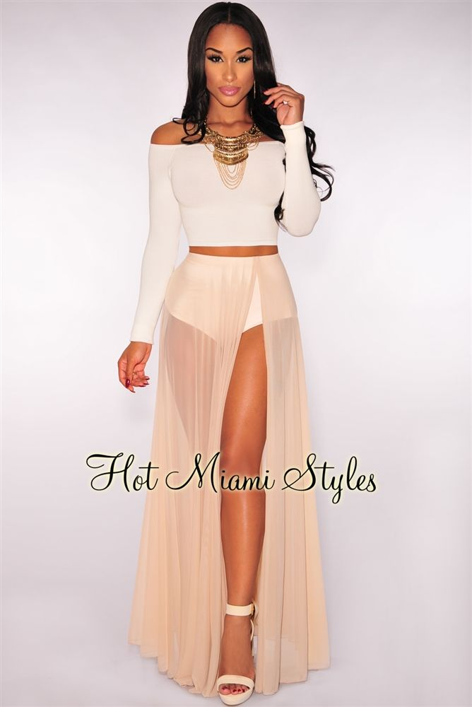 Nude Sheer Panty Maxi Skirt | Sewing Inspiration | Pinterest | Nude ...
