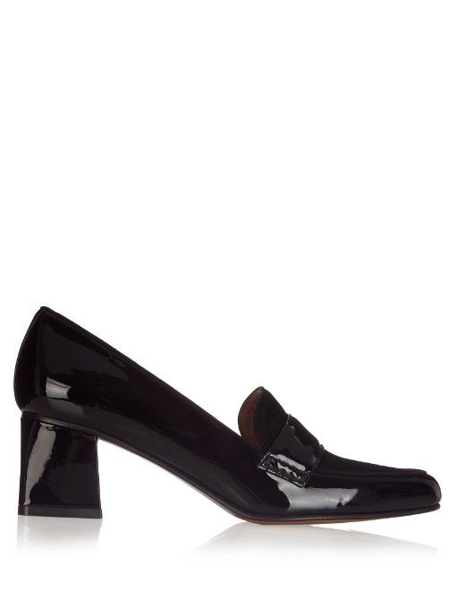 511e8aa2db92 TABITHA SIMMONS Margot Patent-Leather Loafer.  tabithasimmons  shoes  flats