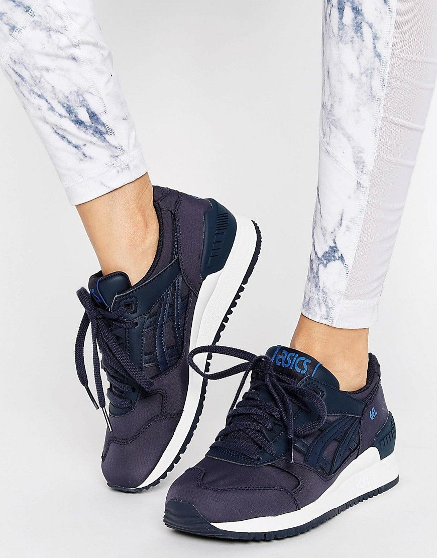 c156855d41f9 Buy it now. Asics Gel Respector Trainers - Navy. Trainers by Asics ...