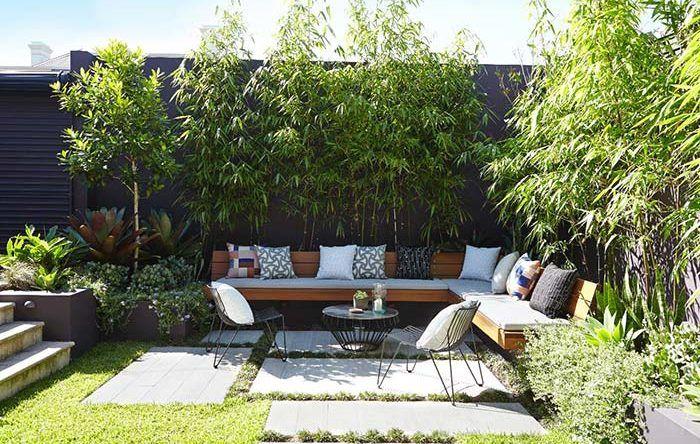 paisagismo quintal dos fundos - Pesquisa Google em 2020 | Pequenos espaços  ao ar livre, Projeto paisagístico para o quintal, Design de jardim