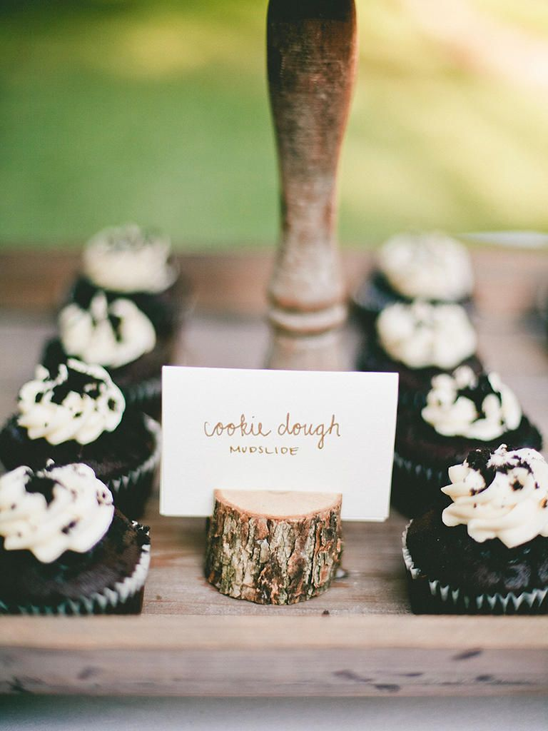 Barn wedding cake table ideas   Creative Dessert Buffet Ideas  Wedding Food  Pinterest