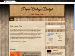 Screen shot 2012 06 15 at 12.31.01 PM 300x224 Vintage Paper Blogger Template Book Blogger Design