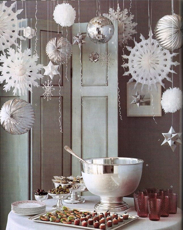 10 Adorable Ideas For A Winter Baby Shower Christmas Party Decorations Holiday Party Decorations Holidays Buffet