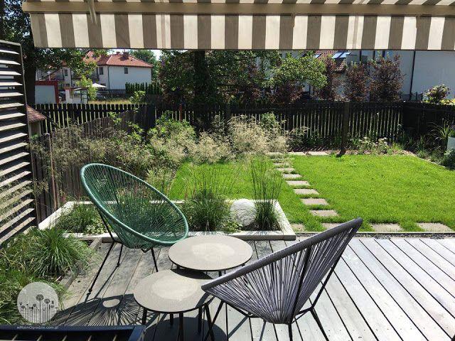 small garden idea, design, contemporary, mały ogród, terrace, modern ...