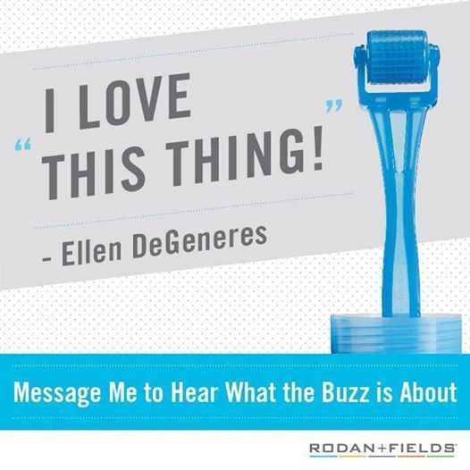 Ellen gets Oscar ready with our Rodan + Fields AMP MD™ Micro-Exfoliating Roller!  Today, micro-exfoliation stepped into the spotlight on The Ellen DeG...