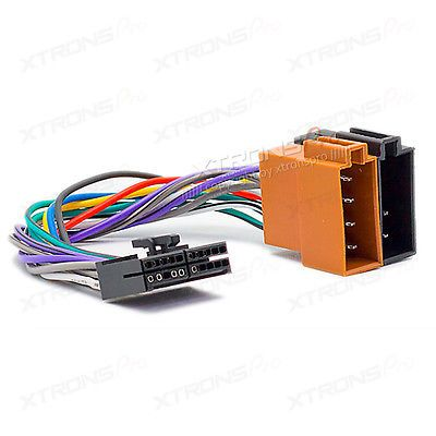Audiovox 20 pin car stereo radio iso(f) wiring harness connector ...