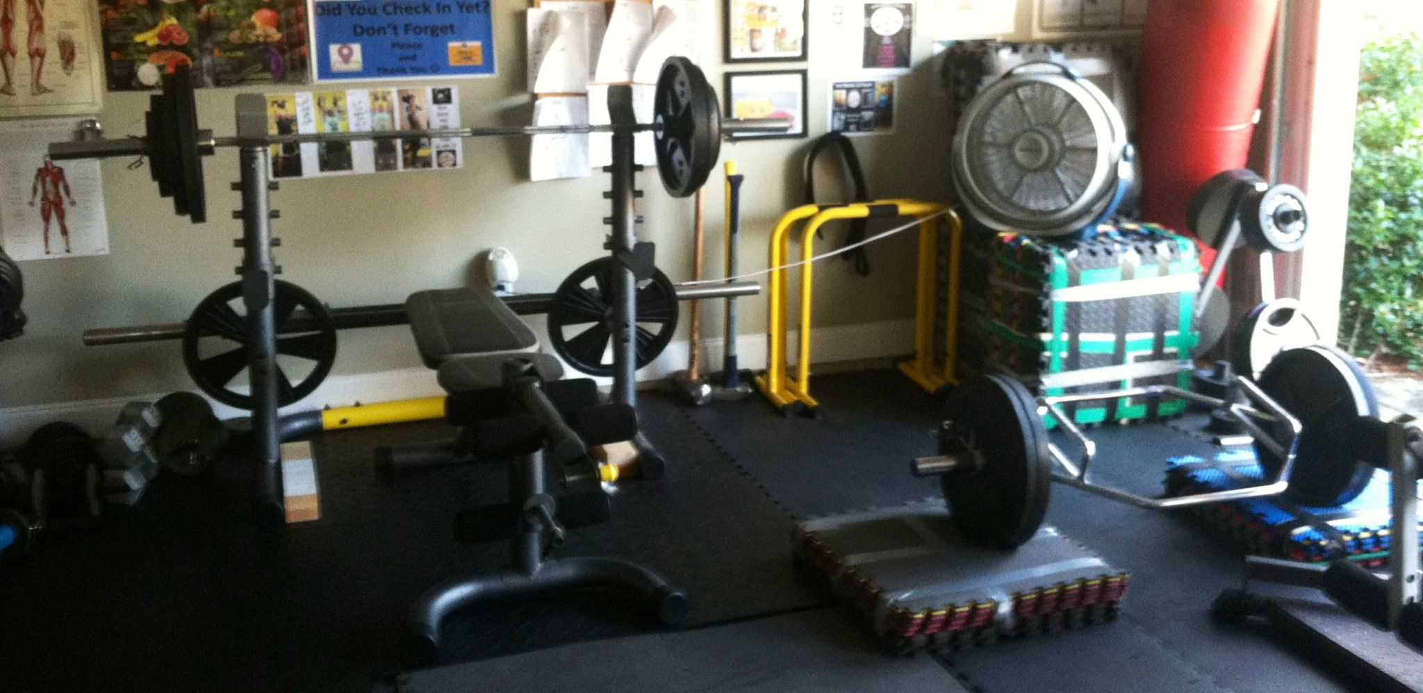 The garage gym in salem where lives are changed home gym