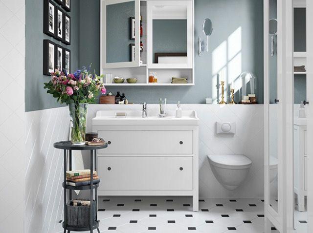 Skøn farve - billede fra IKEA-mail Bad Pinterest Downstairs
