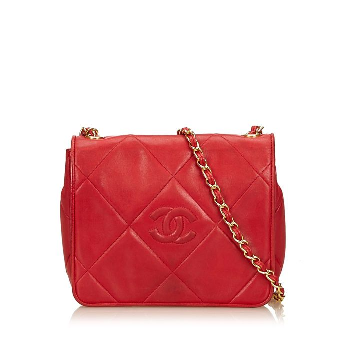 0fe639cb9539 Catawiki online auction house  Chanel - Quilted Lambskin Flap Bag ...