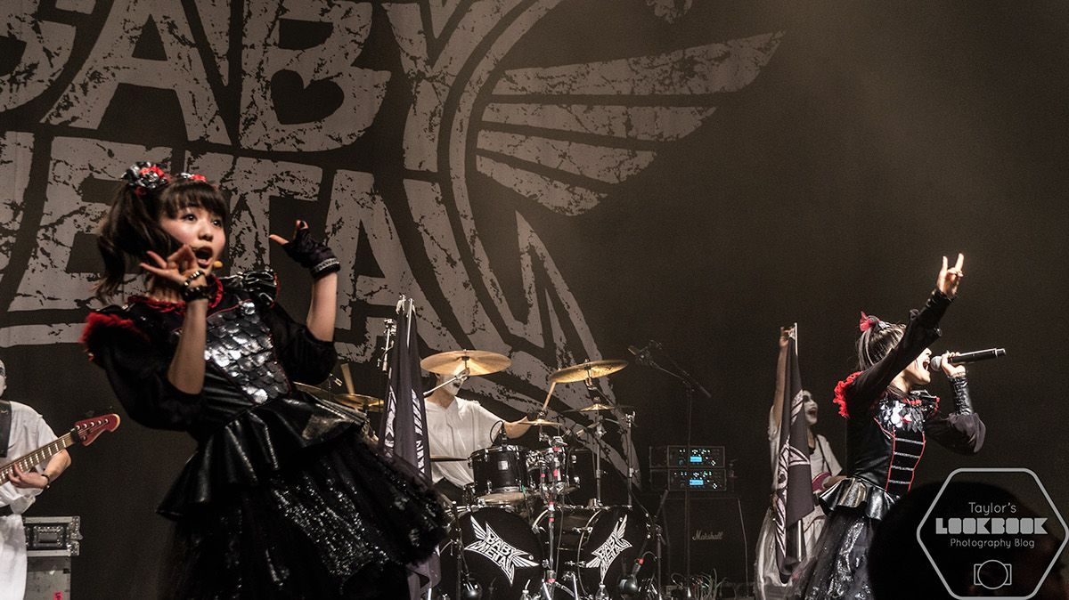 I was sidelining as a fan photographer this time as I took a few pics of Japanese metal group Babymetal at the Filmore in Detroit.