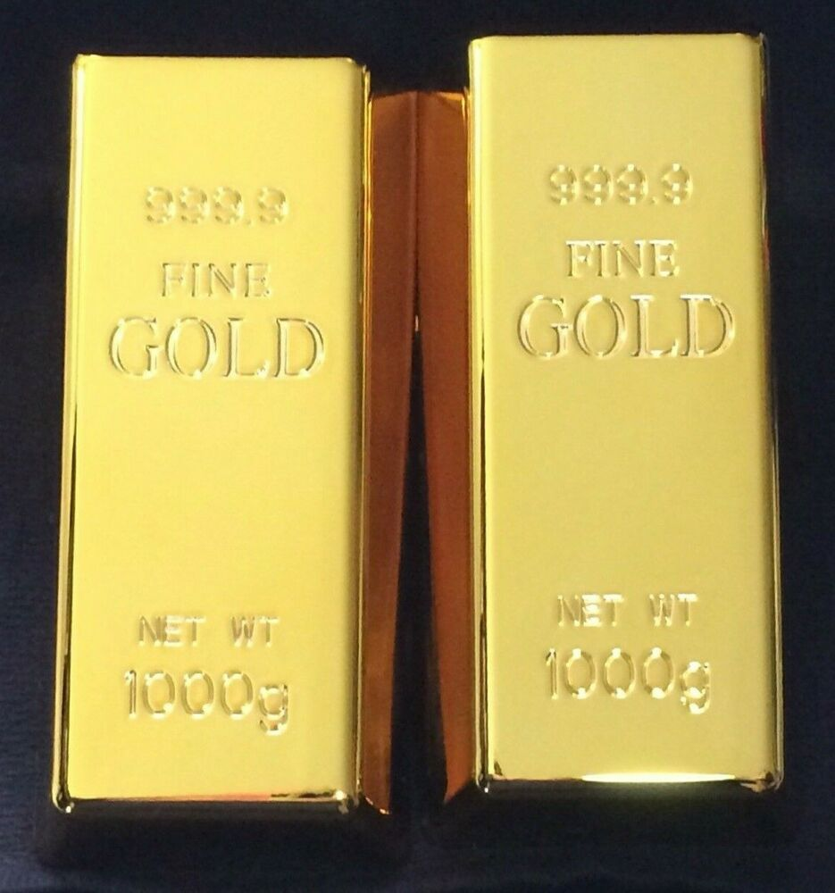Life Size Beautiful Brick Ingot Gold Bar Replica Movie Video Props Ships Fast Us Oceanstatemint Gold Bar Gold Ingot