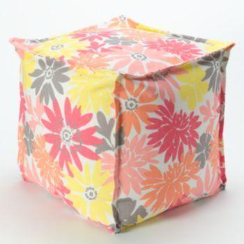 Idea Nuova Floral Pouf #Kohls101
