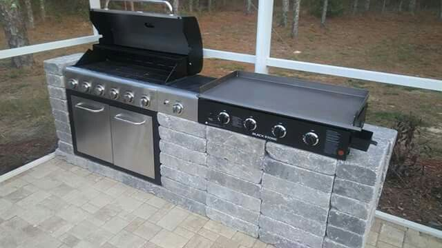 Diy Outdoor Grill Stations Kitchens The Garden Glove Diy Outdoor Kitchen Outdoor Kitchen Grill Outdoor Kitchen