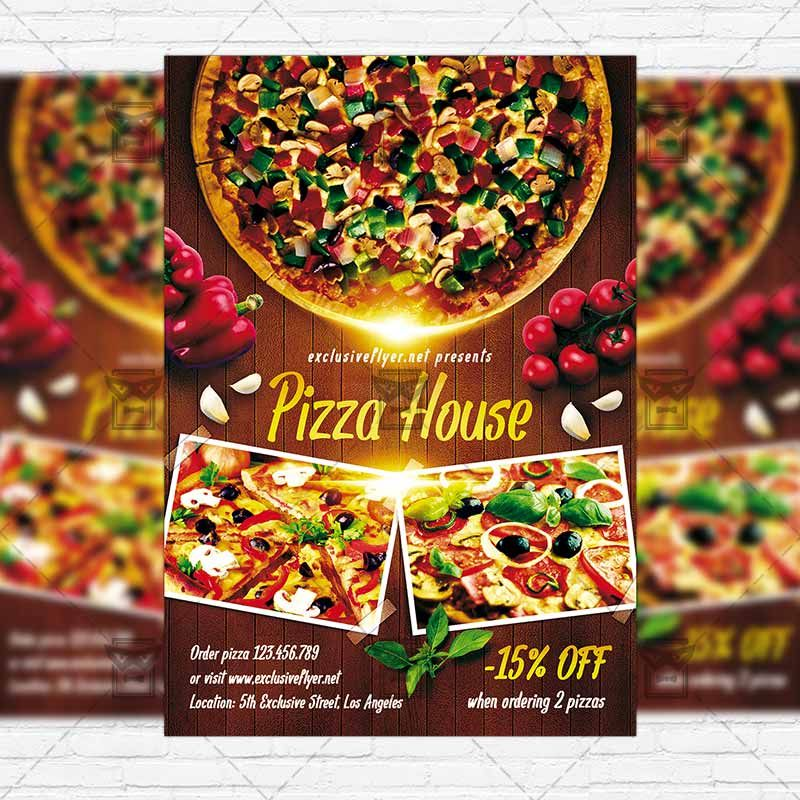 Pizza House – Premium Flyer Template + Instagram Size Flyer https ...