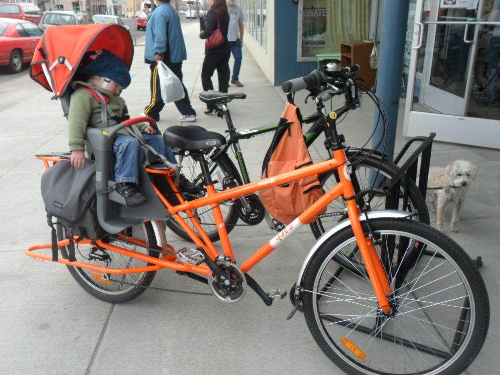 Child Bike Seat Attachment Google Search Family Bike Rides