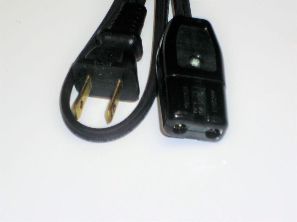 Vitantonio Pizzelle Chef 300 Cookie Waffle Maker Iron AC Power Cord Plug 2pin